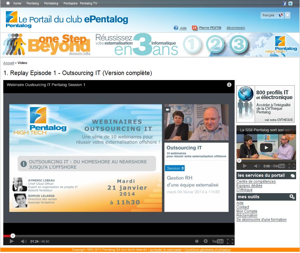 Le portail ePentalog s'enrichit : VOD, nouveaux livres blancs... Connectez-vous vite !