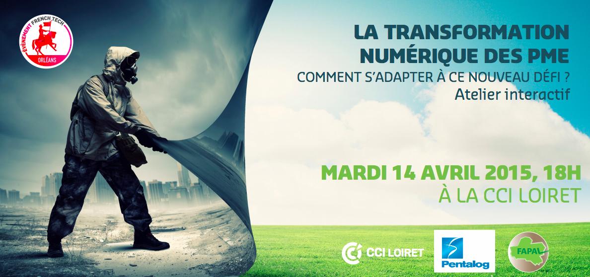 Pentalog animera une conférence interactive « Transformation numérique des PME » le 14 avril à CCI Loiret