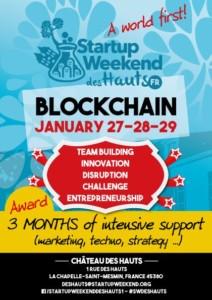 La première édition « Startup Week-end » sur la BlockChain au monde