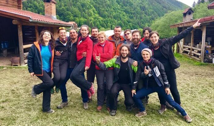 Team building sur management des catastrophes naturelles avec SOS Attitude