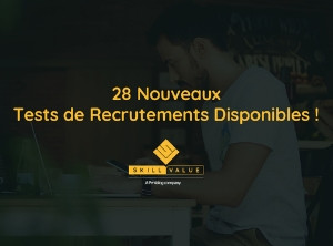 tests de recrutement - skillvalue