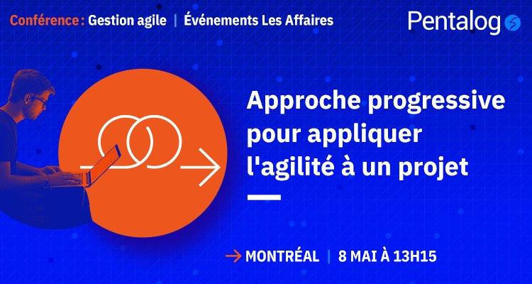 Méthode Agile : Pentalog partagera son expertise à la 1re conférence dédiée à Montréal