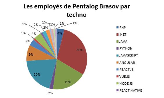 employes de Pentalog Brasov par techno