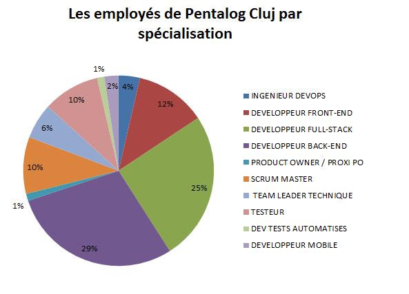 employes de Pentalog Cluj