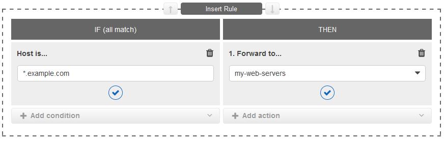 projet php insert rule