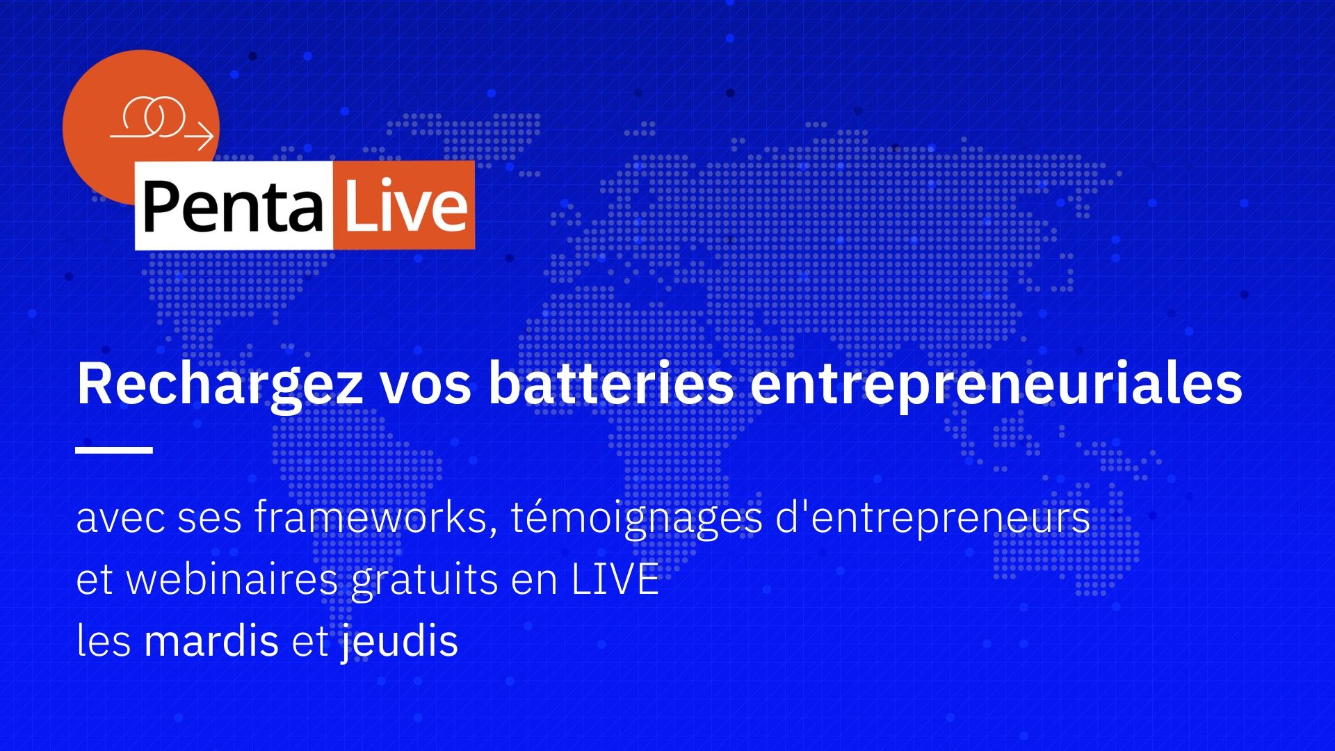 PentaLive : recharger vos batteries